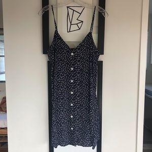 FOREVER 21 - FLORAL SLIP DRESS